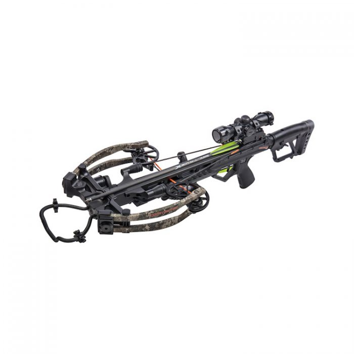 Arbalète BEAR X Constrictor CDX 190 Lbs 410 Fps True Timber Strata