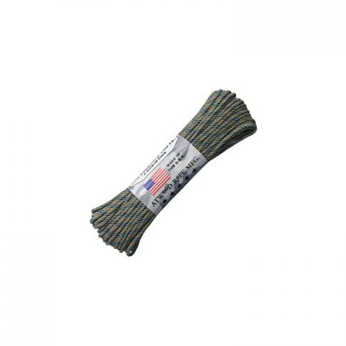 Paracorde ATWOOD ROPE Paracord 550 100 ft (30m) Grey