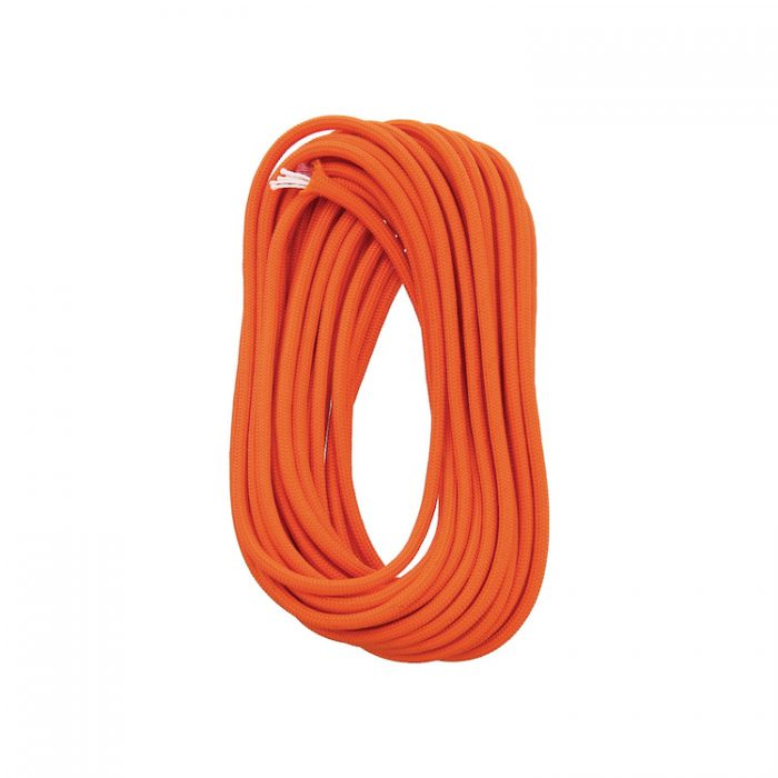 Firecord Paracorde inflammable orange 25ft (7,62m)